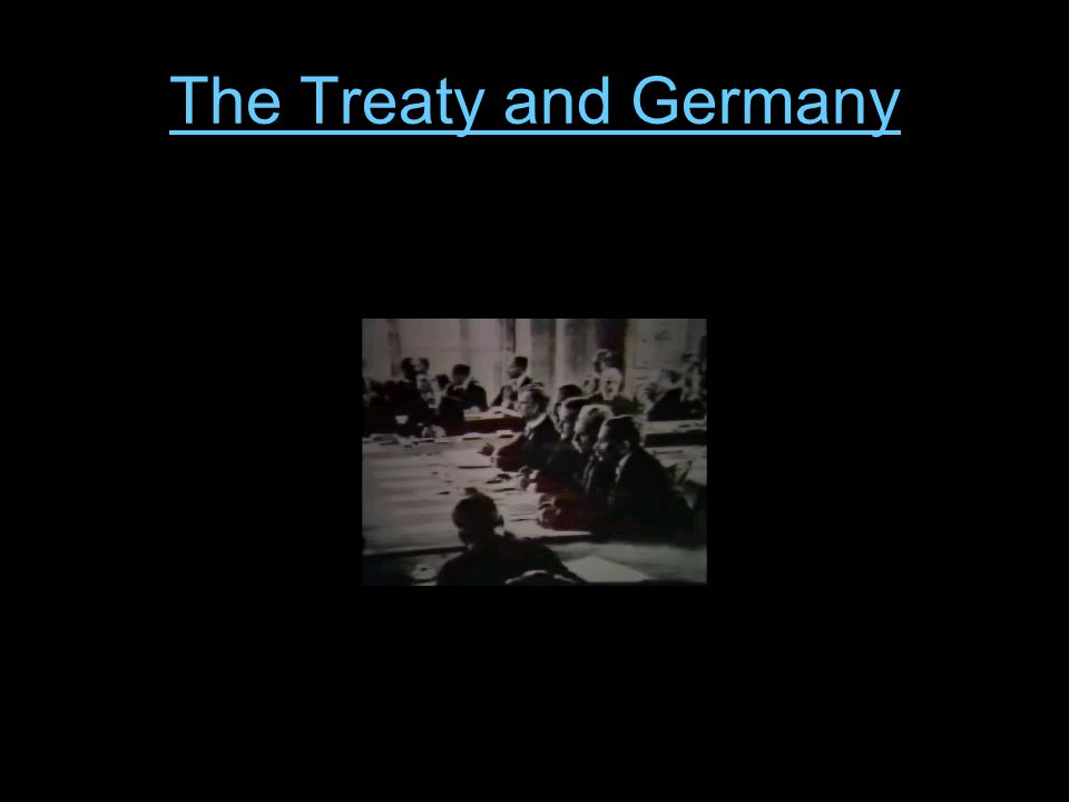 The Treaty and Germany