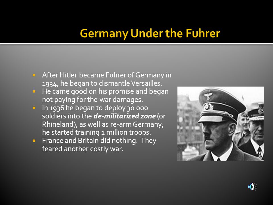 Germany Under the Fuhrer