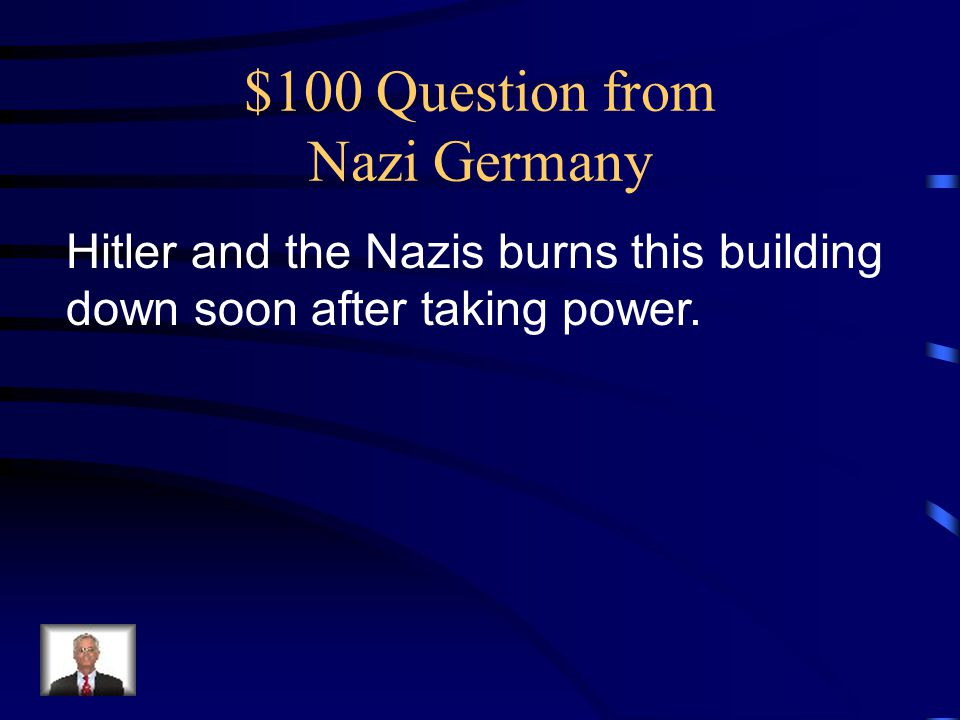 $100 Question from Nazi Germany