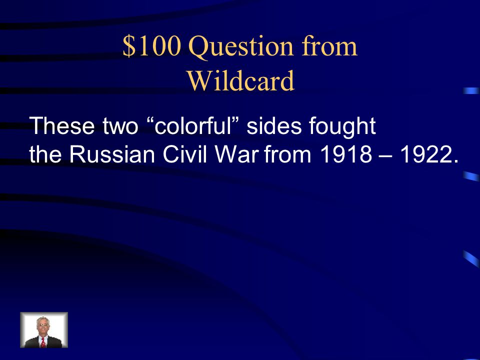 $100 Question from Wildcard