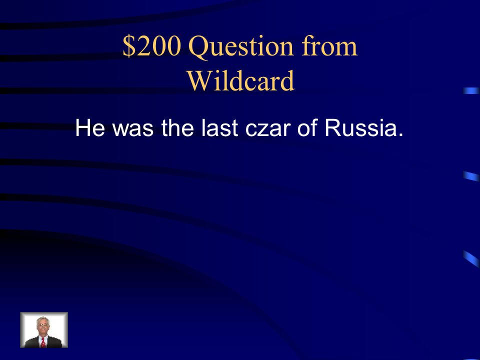$200 Question from Wildcard
