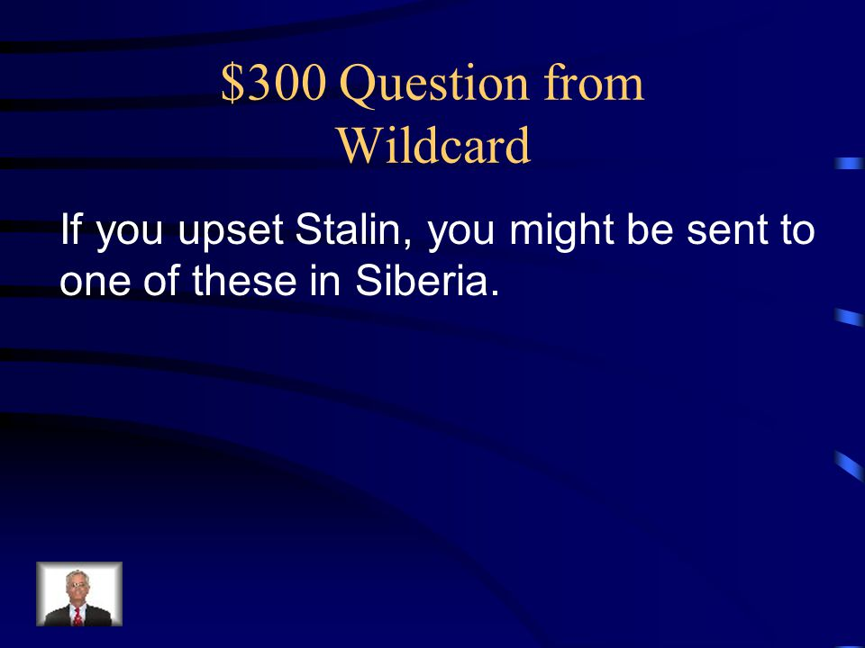 $300 Question from Wildcard