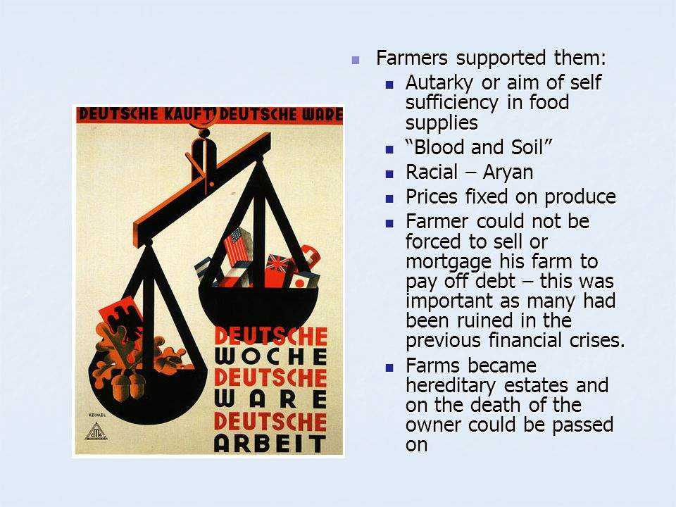 Farmers supported them: