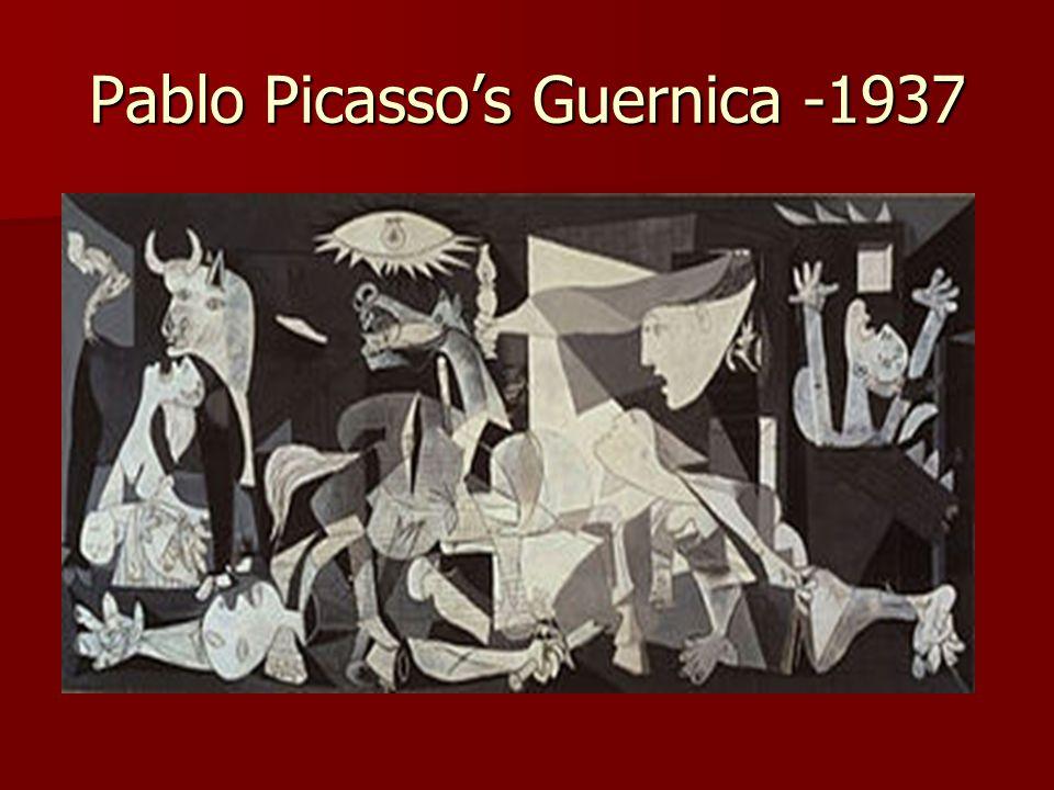 Pablo Picasso's Guernica -1937