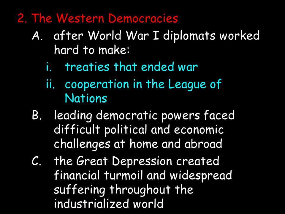 2. The Western Democracies