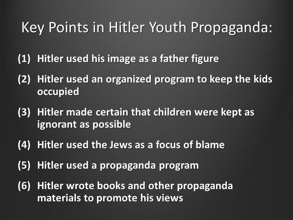 Key Points in Hitler Youth Propaganda: