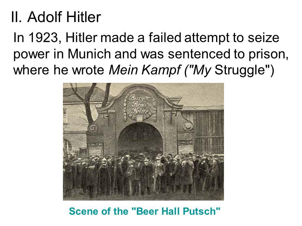 Scene of the Beer Hall Putsch