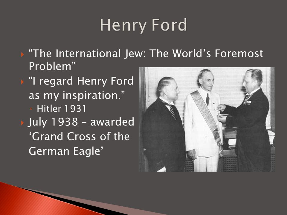 Henry Ford The International Jew: The World's Foremost Problem