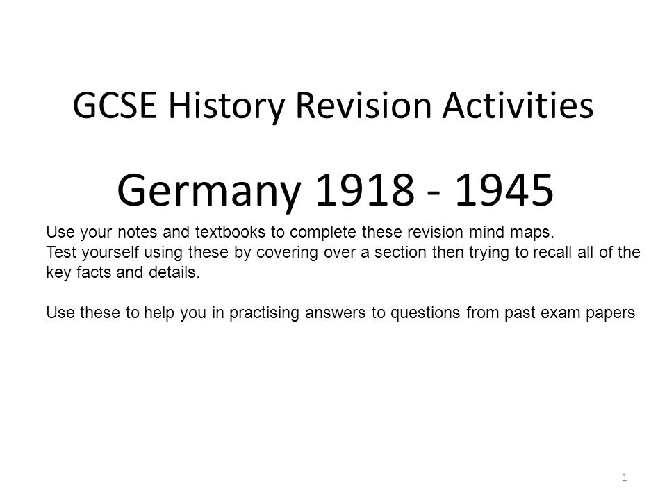 treaty of versailles igcse notes Treaty of versailles (gcse revision) ddaabb method source analysis - created at paris peace conference 1919.
