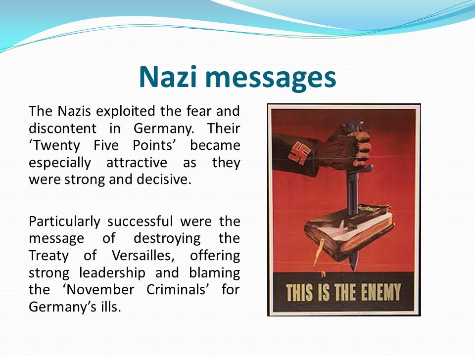 Nazi messages