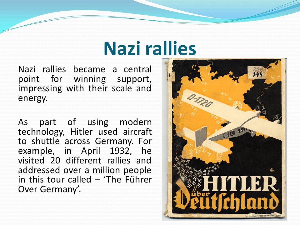 Nazi rallies