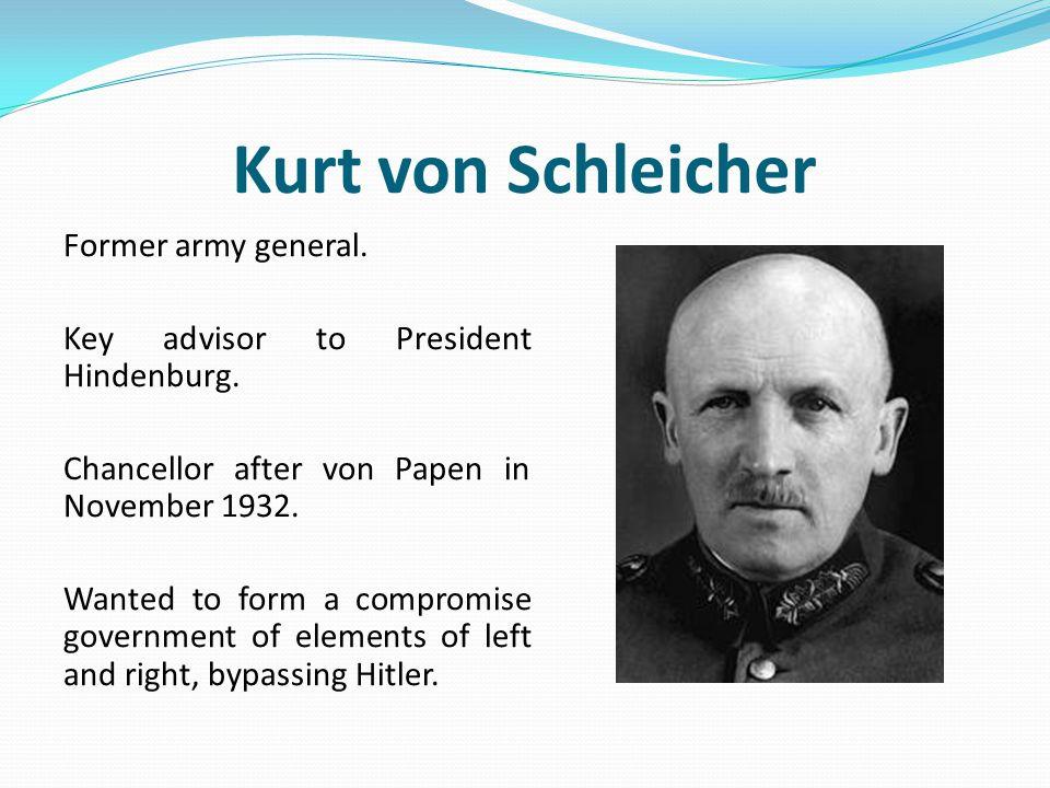 Kurt von Schleicher