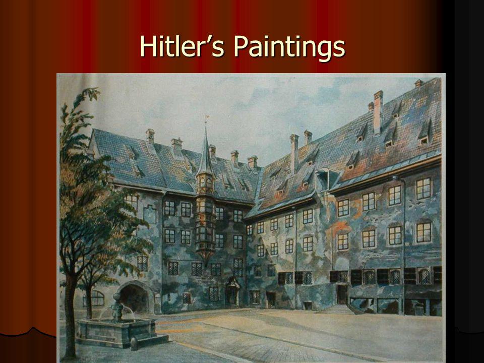 Hitler's Paintings