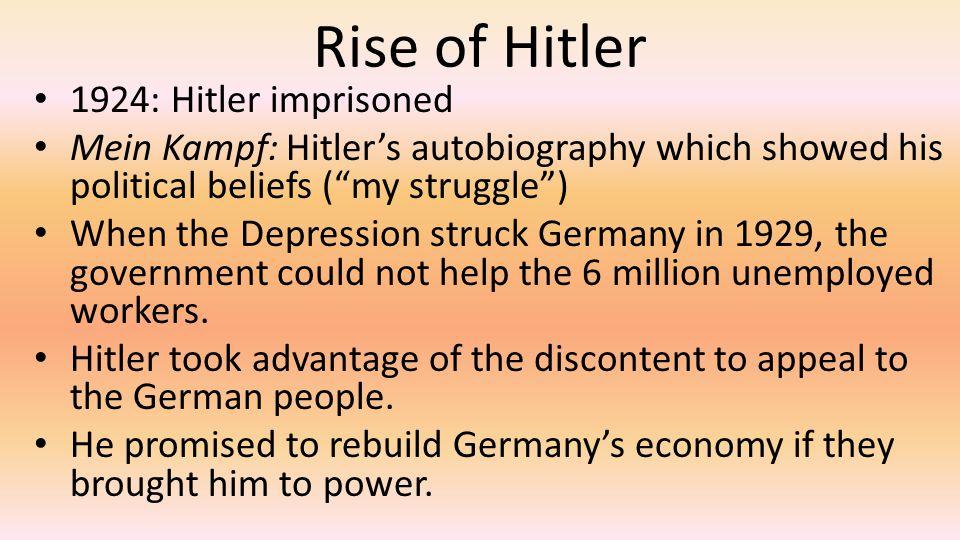 Rise of Hitler 1924: Hitler imprisoned