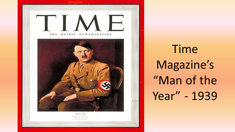 Time Magazine's Man of the Year - 1939