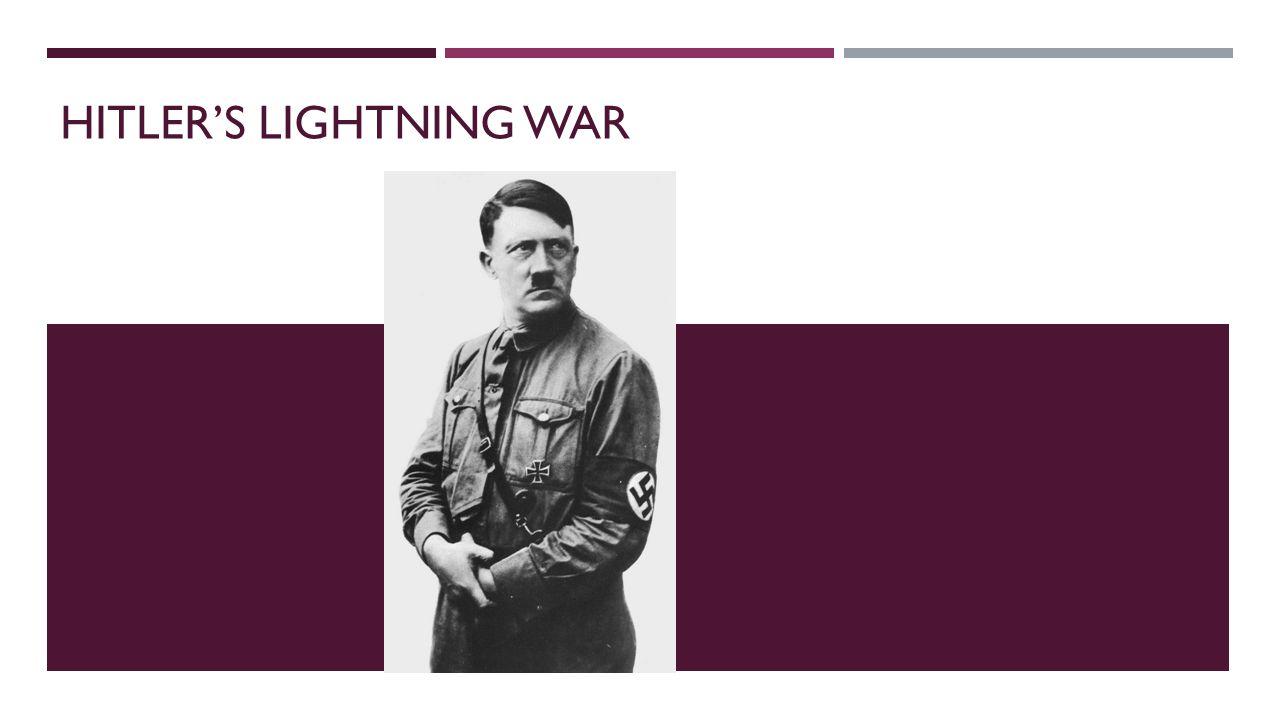 Hitler's Lightning War