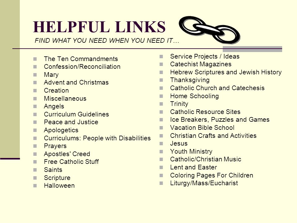 HELPFUL LINKS FIND WHAT YOU NEED WHEN YOU NEED IT…