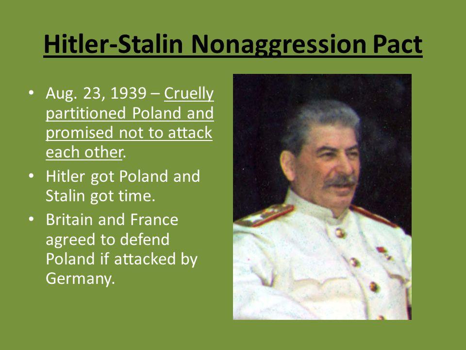 Hitler-Stalin Nonaggression Pact