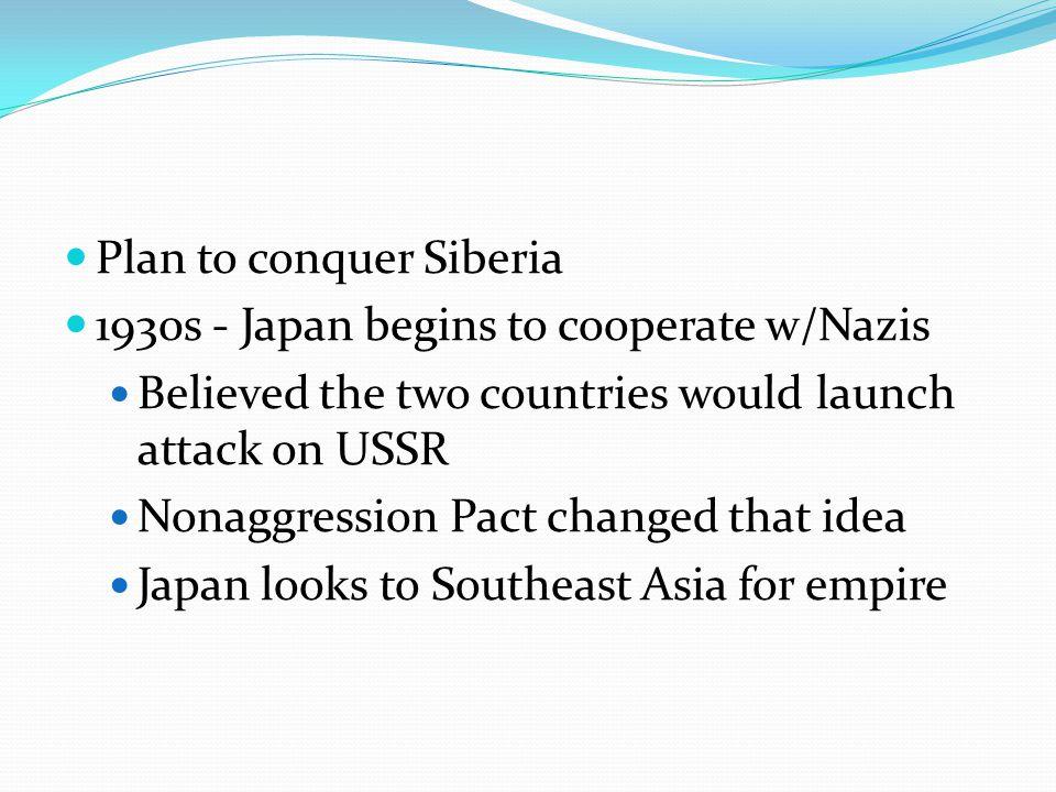 Plan to conquer Siberia