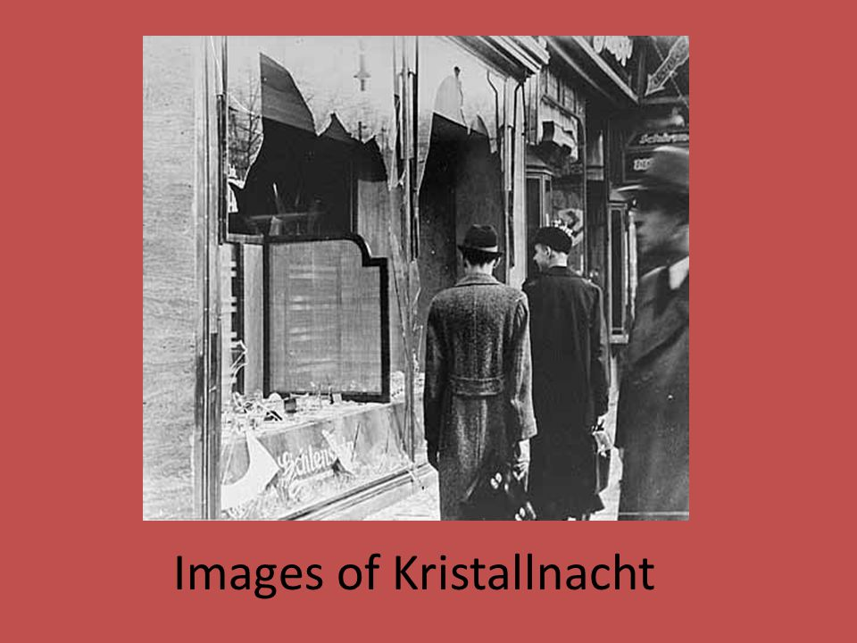 Images of Kristallnacht