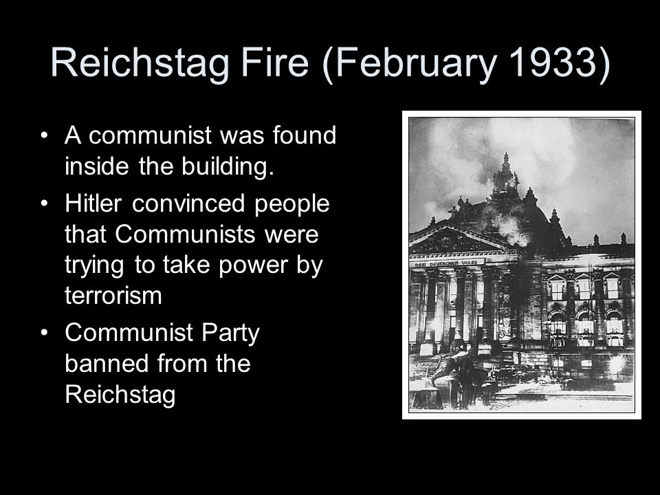 Reichstag Fire (February 1933)