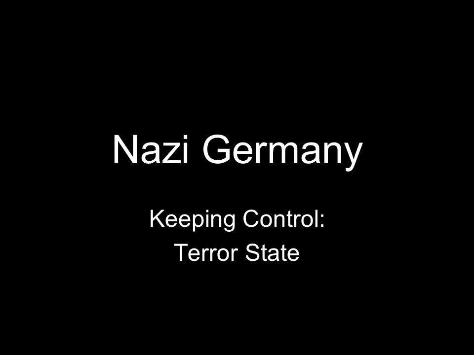 Keeping Control: Terror State