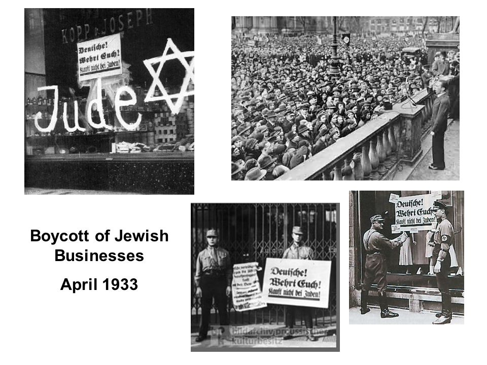 Boycott of Jewish Businesses