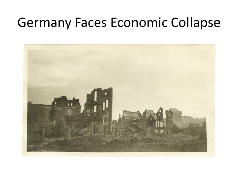 Germany Faces Economic Collapse