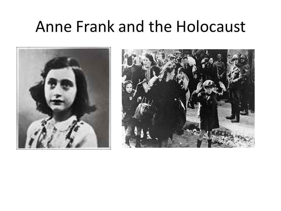 Anne Frank and the Holocaust