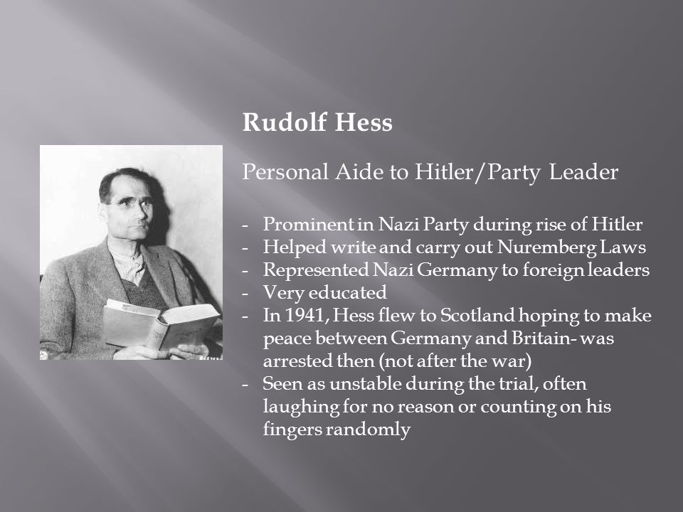 Image result for the death of rudolf hess