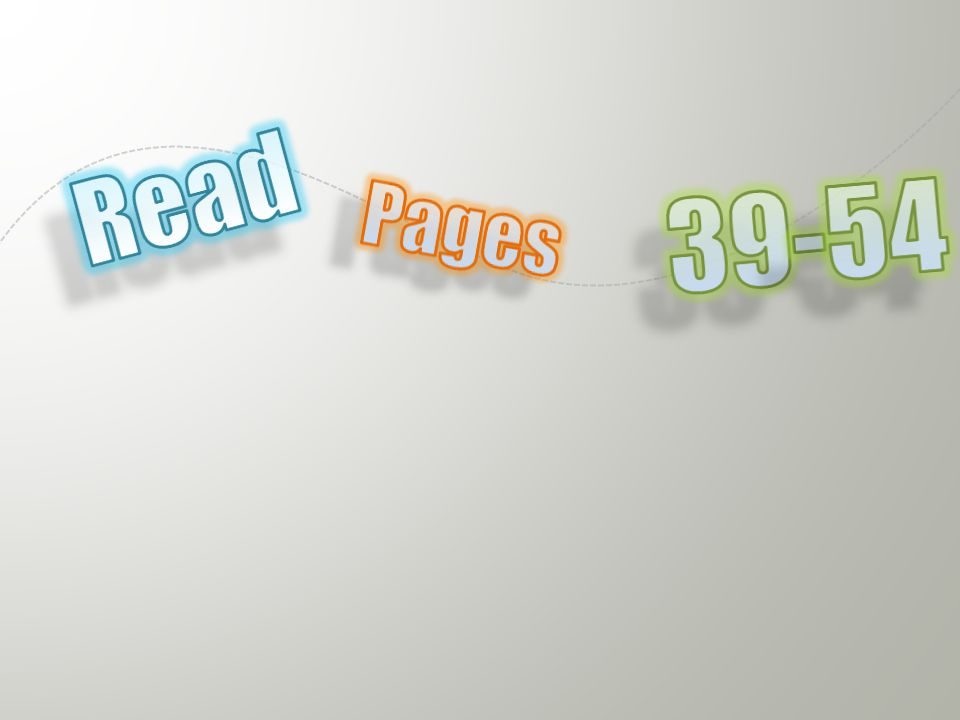 39-54 Read Pages Floating, glowing letters (Basic)