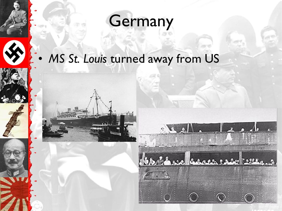 Germany MS St. Louis turned away from US