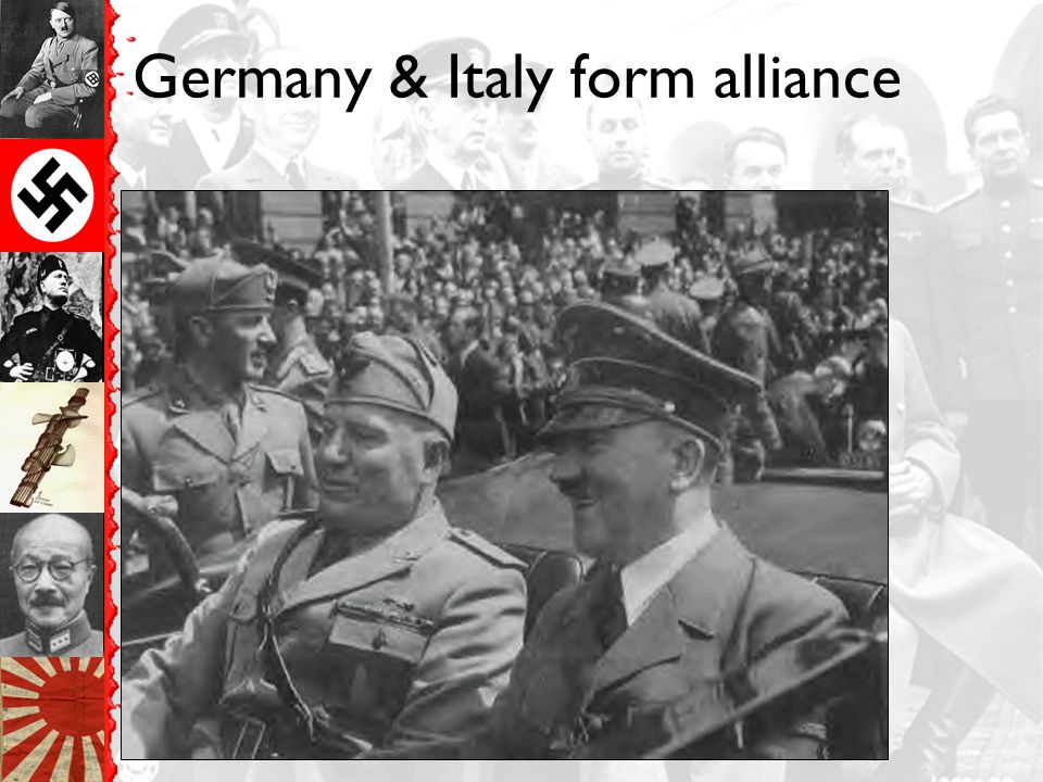 Germany & Italy form alliance