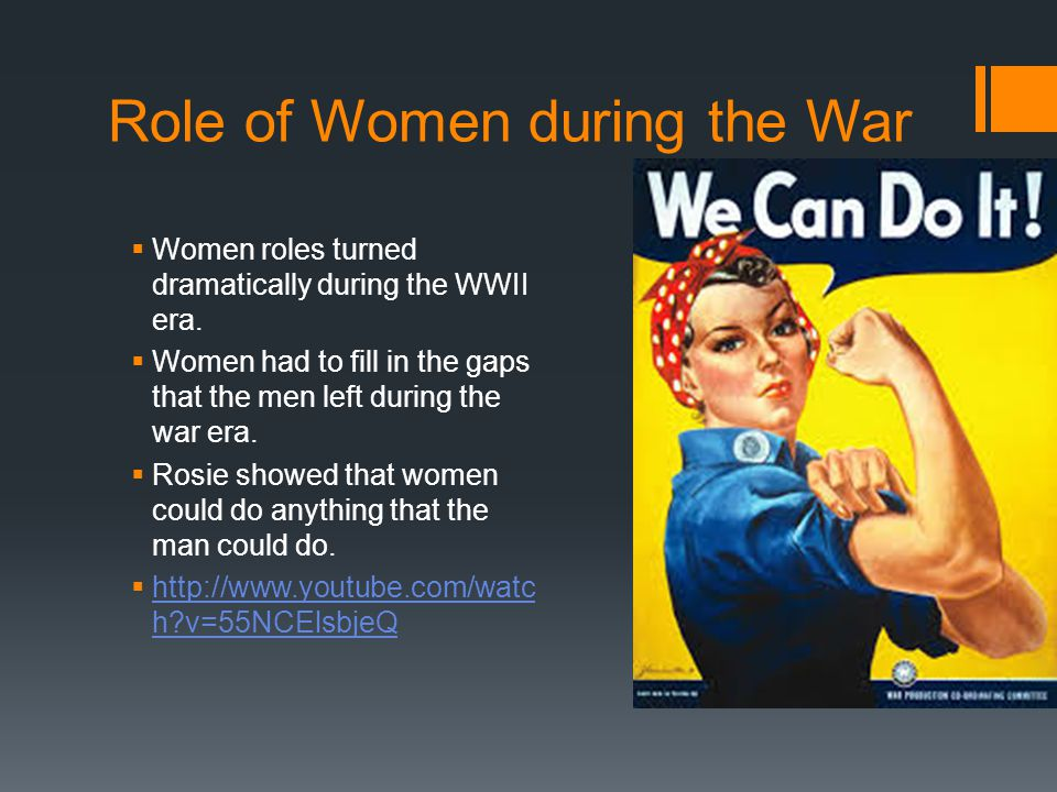 Role of Women during the War