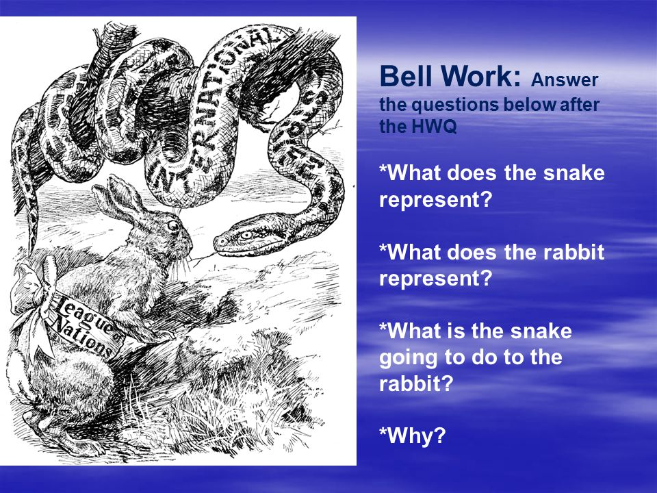 Bell Work: Answer the questions below after the HWQ