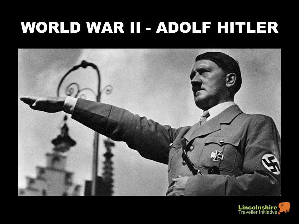 WORLD WAR II - ADOLF HITLER