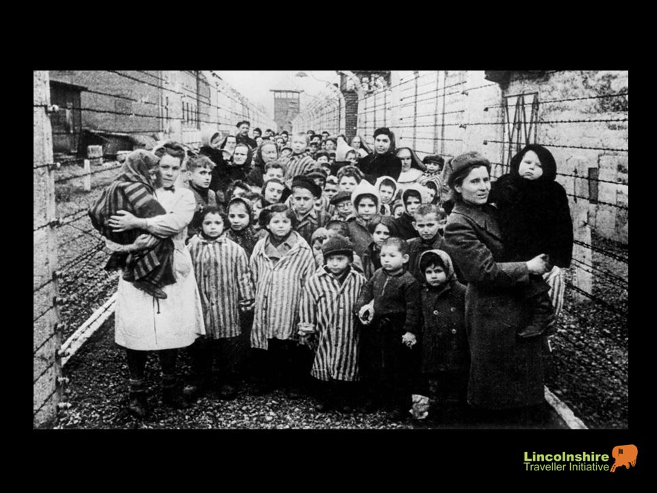 As many as 600,000 are murdered in camps and gas chambers.