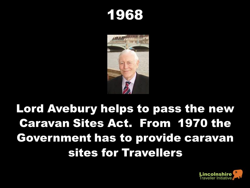 1968 Lord Avebury helps to pass the new