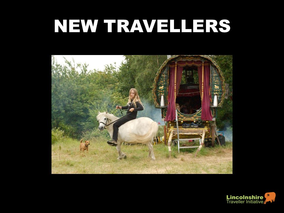 NEW TRAVELLERS 1970s-1990s.