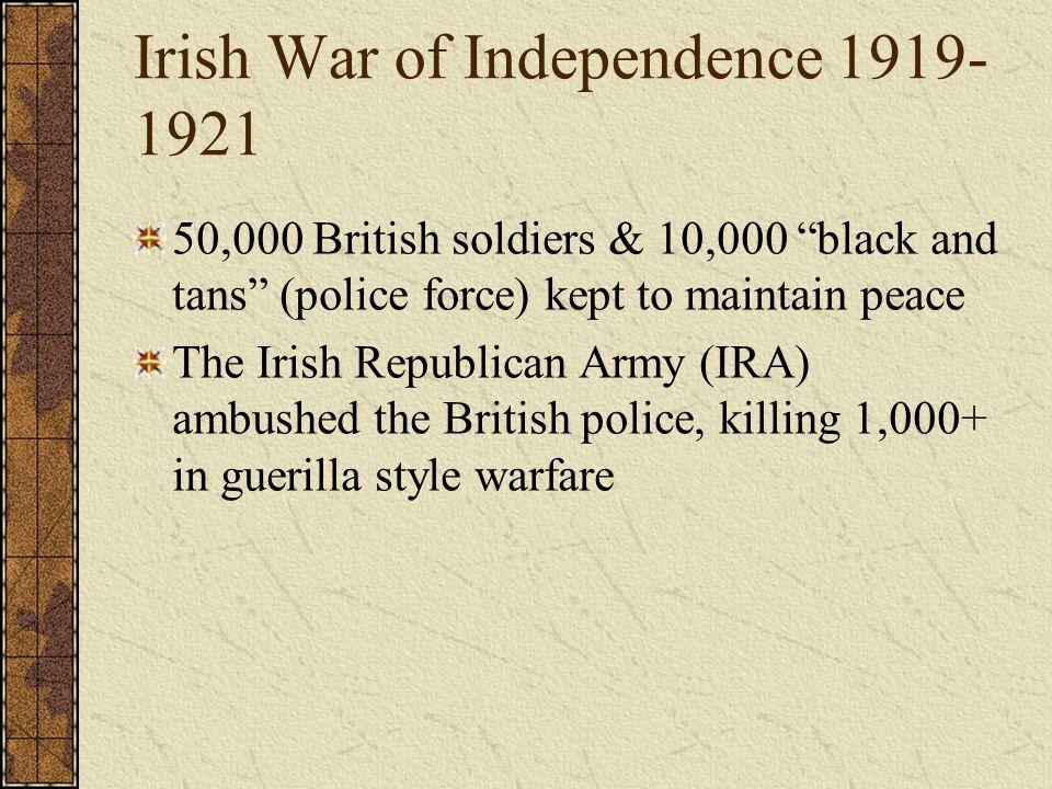Irish War of Independence 1919-1921