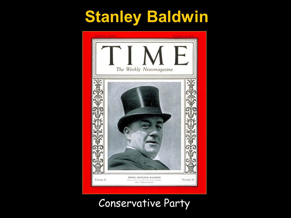 Stanley Baldwin Conservative Party