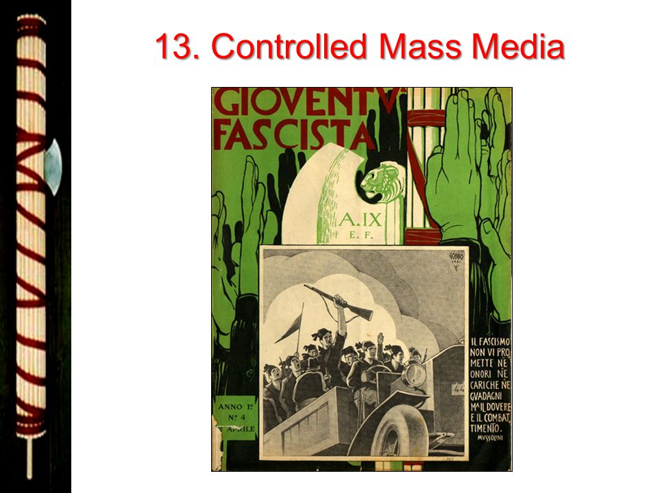 13. Controlled Mass Media