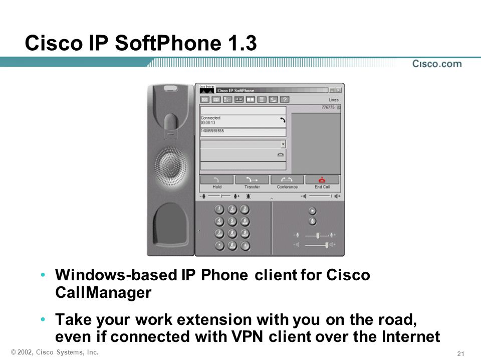 Cisco IP SoftPhone 1.3 IP SoftPhone caveots. If using NT security, requires NT domain. win 95,98 requires print and file sharing to be on.