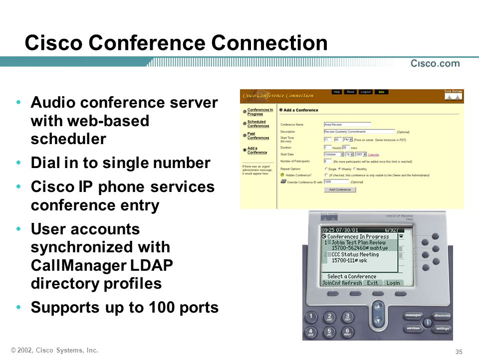 Cisco Conference Connection