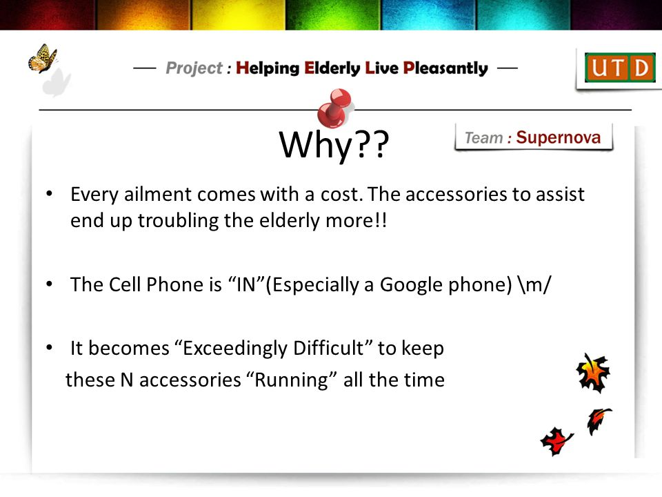 Why Every ailment comes with a cost. The accessories to assist end up troubling the elderly more!!