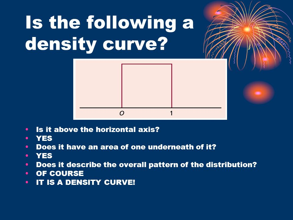 Is the following a density curve