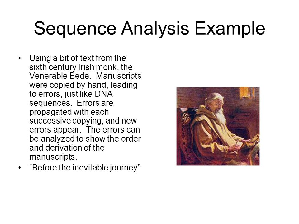 Sequence Analysis Example
