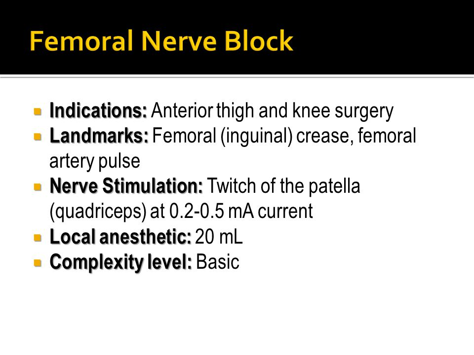 lumbar plexus block & femoral nerve block - ppt download,