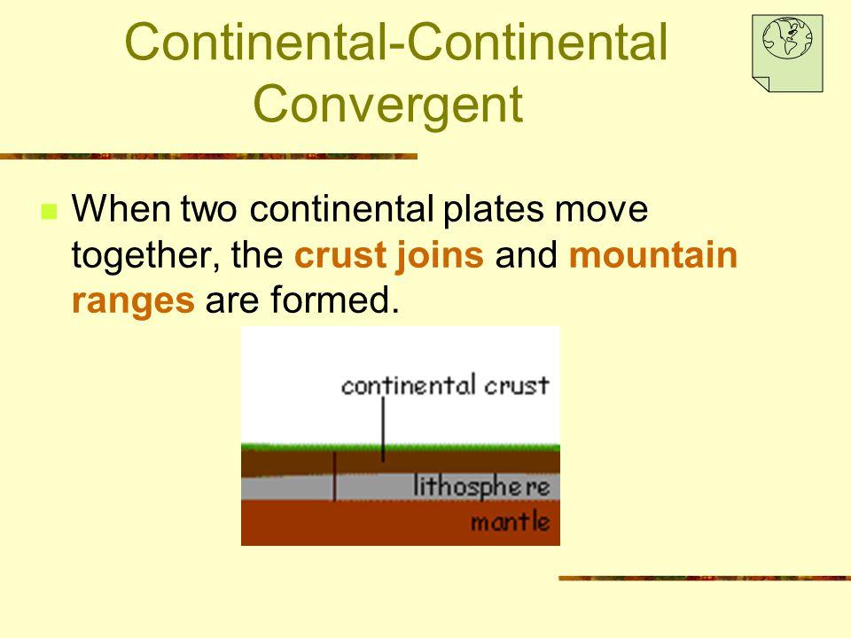 Continental-Continental Convergent
