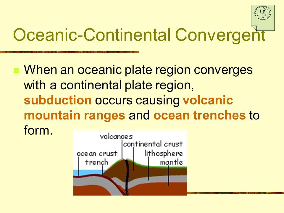 Oceanic-Continental Convergent